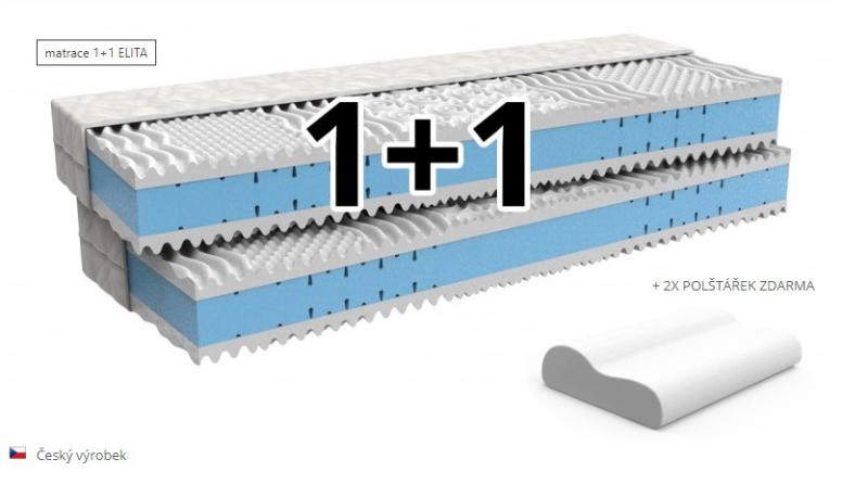 Zdravotný matrac 1+1 ZADARMO ELITA