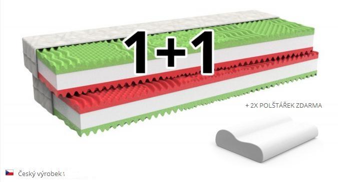 Matrace XENA 1+1 matrace ZDARMA