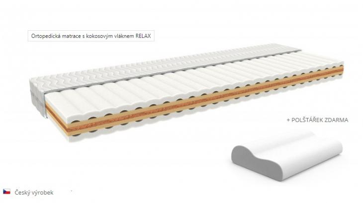matrace RELAX - kokosové vlákno