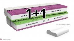 zdravotní matrace VERONIKA 1+1 zdarma