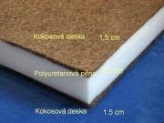 Dětská kokosová matrace s viscopěnou