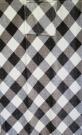 Cestovní deka káro šedé