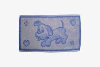 Dětský ručník 30x50 Pes modrý
