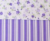 Povlečení Vende fialové krep