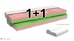 matrace 1+1 VENUŠE - akce