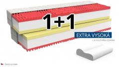 Ortopedická matrace MEMORY COMFORT EXTRA 1+1 zdarma